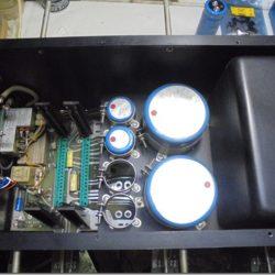 EIコア型エキポシモデルのコンデンサー全交換