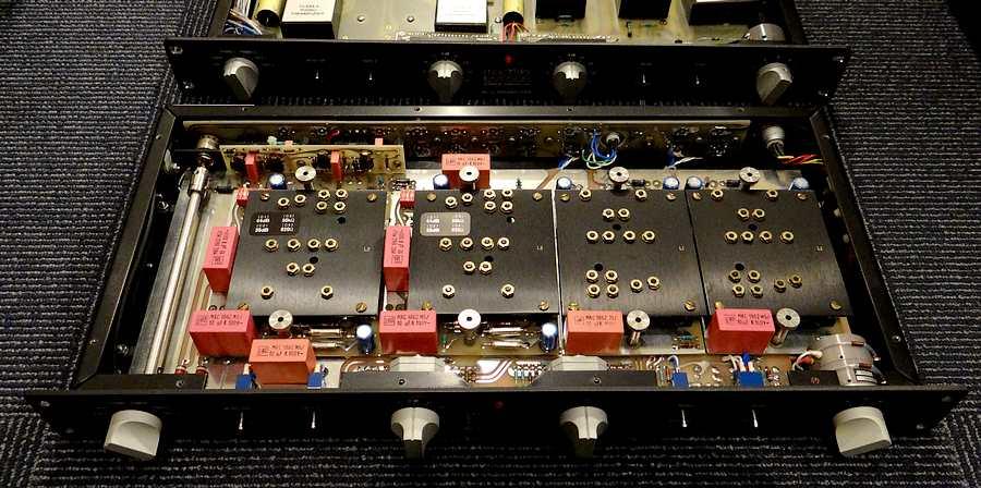Mark Levinson ML7L |2019年12月整備・電源ユニットのタンタルコンデンサも交換済