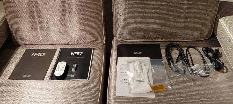 Mark Levinson No.52Lプリアンプ|付属品、Mark Levinson USB、リモコンなど