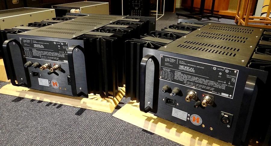 中古マークレビンソンNo.20.5L パワーアンプ:WBT純銅スピーカー端子