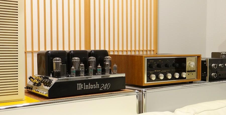 McIntosh MC240 パワーアンプ