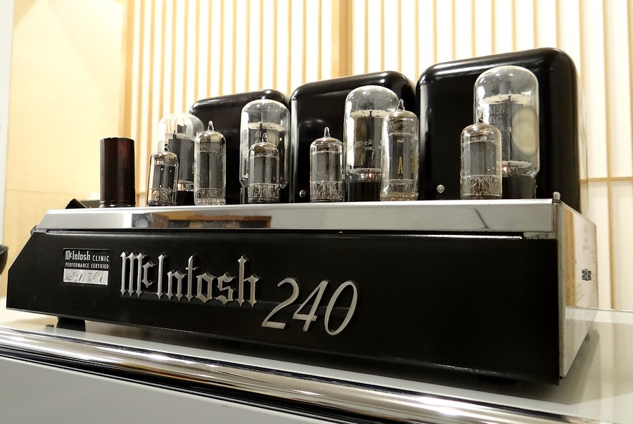 McIntosh MC240 poweramp