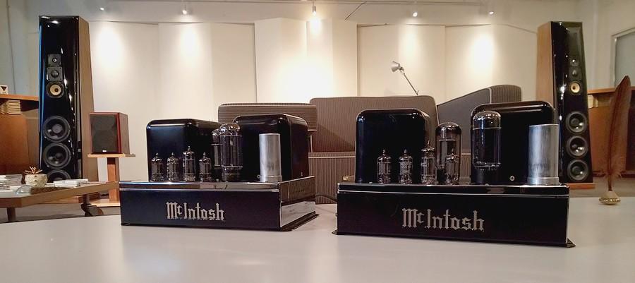 【中古マッキントッシュパワーアンプ】McIntosh MC30 モノラルパワーアンプ