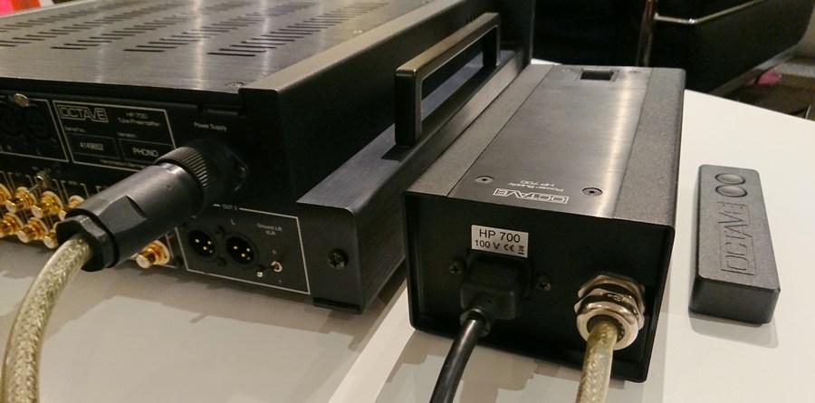 OCTAVE HP-700 used PREAMP+in2+in2|オクターブ・プリアンプ|別筐体電源ユニット