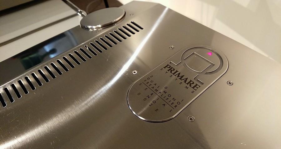PRIMARE 201 PRE AMPLIFIER|オーディオ好きな建築家がデザインしたプライマー201