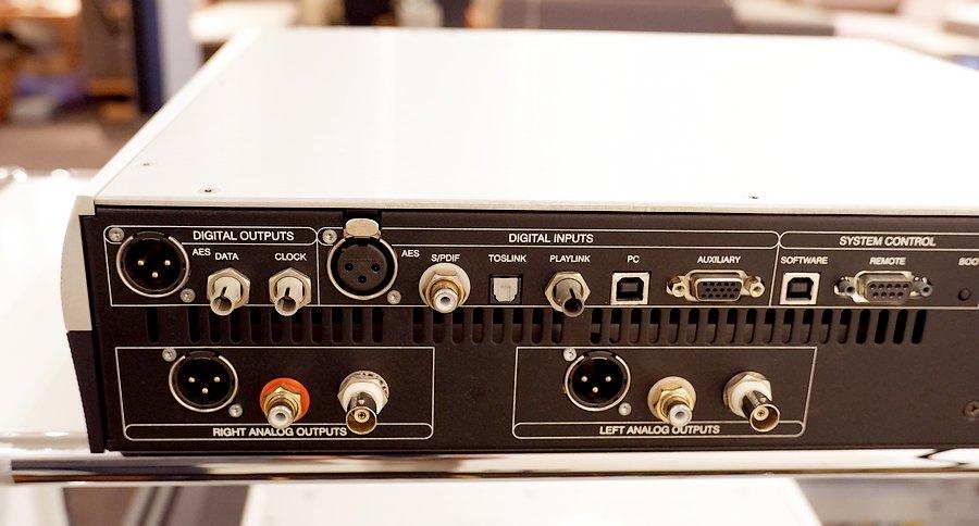 Playback Designs MPS-5 SACD-CD|豊富な入出力系
