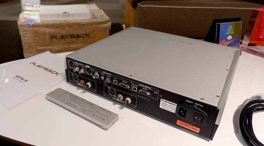Playback Designs MPS-5 SACD-CD|プレイバックシステムズMPS-5 元箱カートン付属