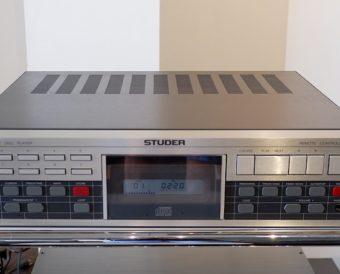STUDER A725 CD Player オーバーホール整備&電源部強化