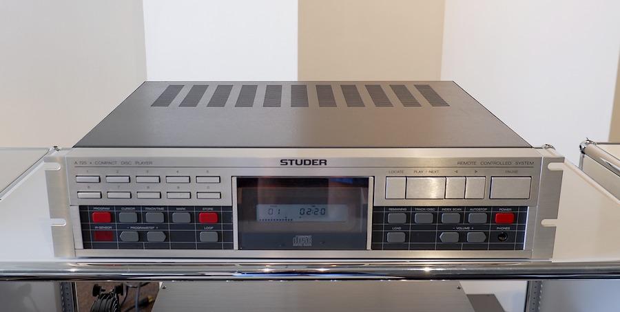 STUDER A725 CD Player|スチューダーA725オーバーホール整備版
