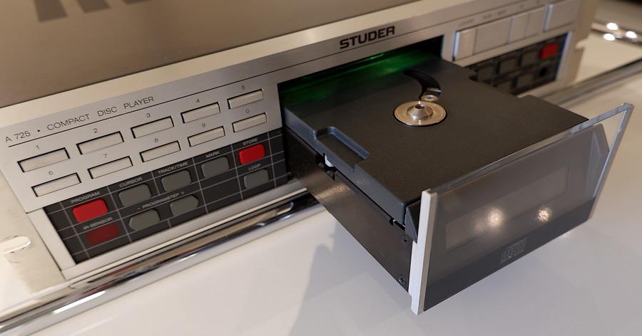 STUDER A725QC CDプレーヤー ピックアップ交換・オーバーホール済 中古スチューダー