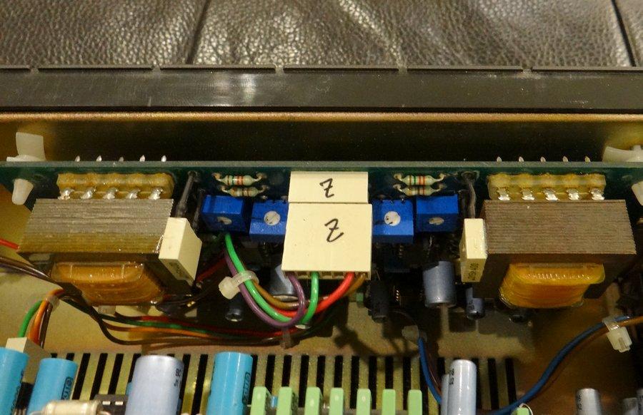 STUDER A725 PHILIPSCDM1ピックアップ新品交換:出力部