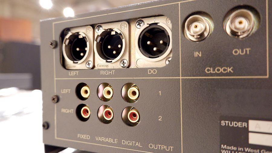 STUDER A727 SP オーバーホール整備|XLR端子部も交換済み