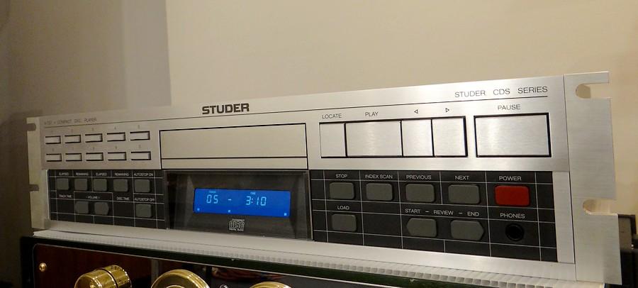 STUDER A727(オーバーホール整備&有機ELパネル新規製作)