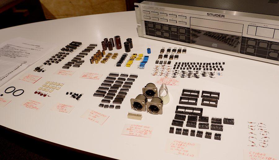 STUDER A727 SP オーバーホール整備&フルチューニング版