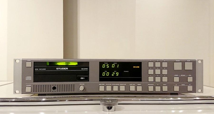 STUDER D732 CD-Player|スチューダーD732 CDプレーヤー