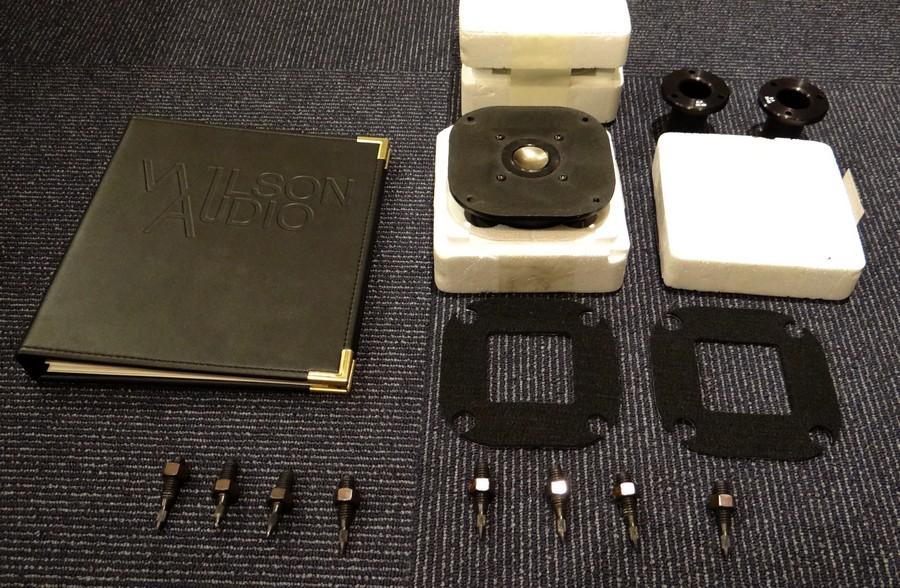 WILSON AUDIO System5付属品。ツイーター予備