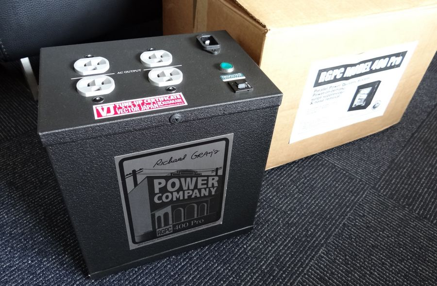 Richard Gray`s Power Company RGPC400Pro  AC