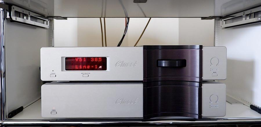 中古クラッセ・オメガプリアンプ classe OMEGA MK2 PRE AMP 電源パワーサプライ別筐体