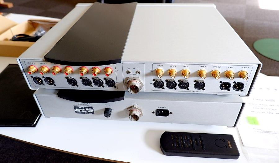 中古クラッセ・オメガプリアンプ classe OMEGA MK2 PRE AMP|2系統バランスアウトプット