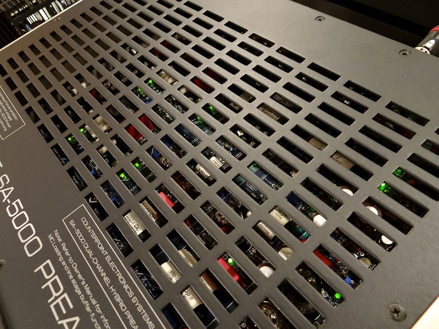 Counter Point SA5000プリアンプ(ブランドパーツ多数)