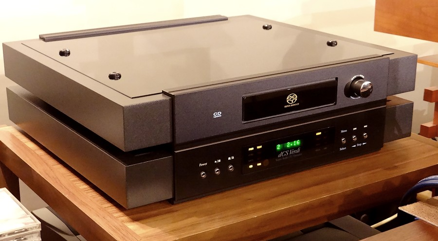 中古 dCS Verdi CD トランスポター。