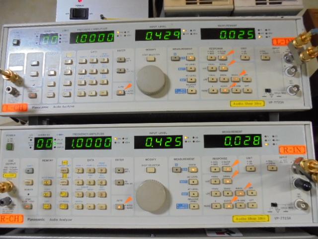 WADIA 21 CDプレーヤー|オーバーホール整備済|1Khz_基準信号の歪率_0_02%台とOKです。