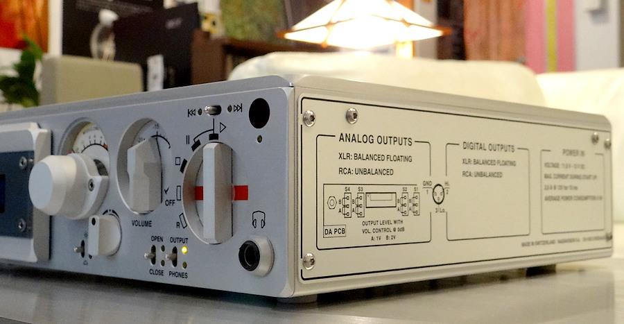 【中古ナグラCDプレーヤー】アウトプットレベル可変・Nagra CDC CD Player