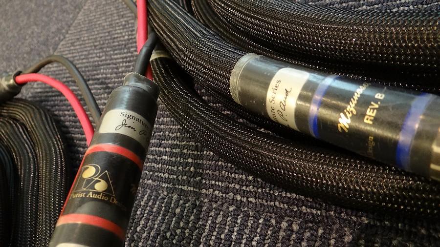 PAD mizunosei signature rev.b speaker 4.0m スピーカーケーブル