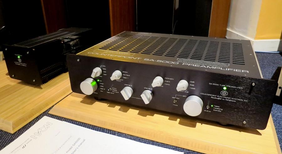 Counter Point SA5000 PHNO対応コントロールプリアンプ 代理店整備準拠 整備後にご案内