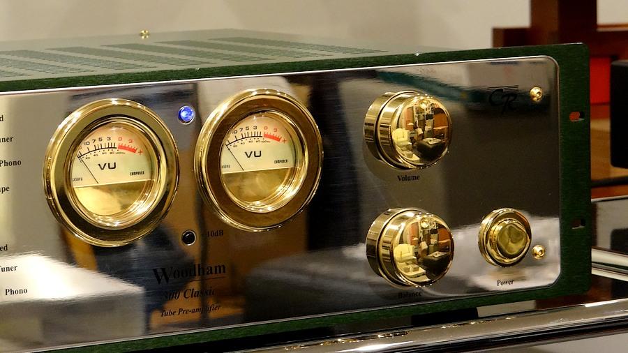 【中古真空管プリアンプ】CR Developments woodham 300 classic