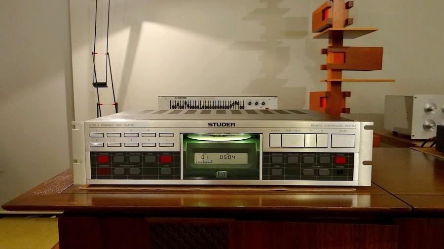 中古CDプレーヤー STUDER A725 mint! 正規代理店品