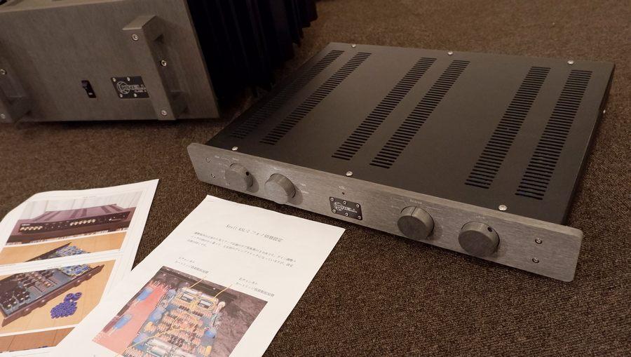 KRELL KSL プリアンプ 定価¥546,000.(MM/MCフォノボード付属 )   過去整備済