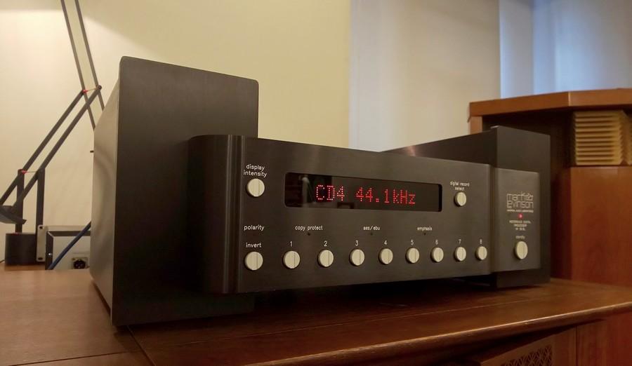 レビンソンのDACは厚いサウンドと密度感あるミッドレンジが聴き応えがあります
