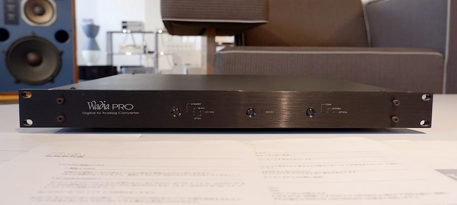 WADIA Pro D/Aコンバーター 正規品|中古ワディアDAC XLRケーブル接続可能