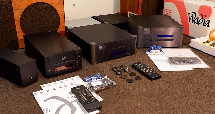 WADIA WT2000S、WADIA6、WADIA21 オーバーホール整備版や修理版など