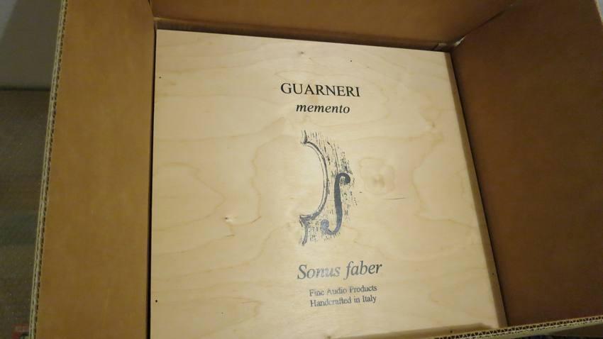 中古 ソナス ガルネリ Sonus Faber Guarneri Memento