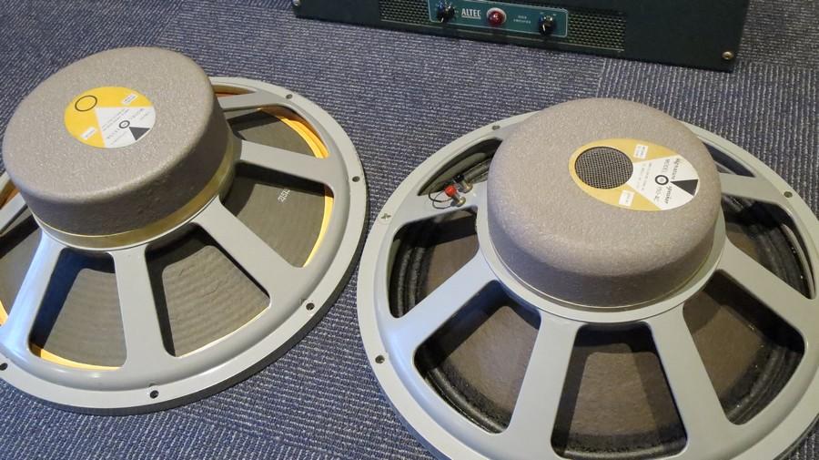 150-4cとLE15A JBLユニット