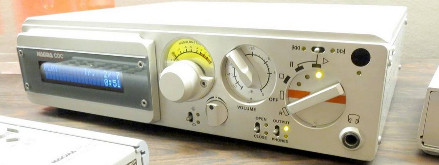 Nagra-cdc CDプレイヤー(宇宙軍事関連部品が多数使用されたプリ機能付)
