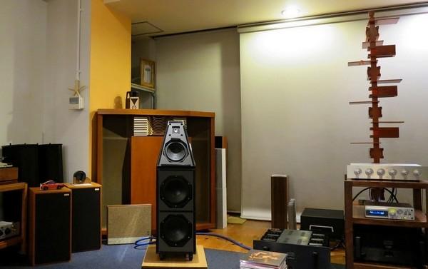 中古 WILSON AUDIO System5のサウンドステージ。中古ハイエンドオーディオアンプ スピーカー 販売 秋葉原 日本橋 Audio Dripper TOKYO