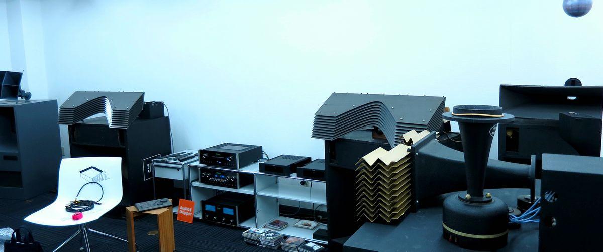 中古ヴィンテージスピーカー。JBL&ALTECフロントロードシステム