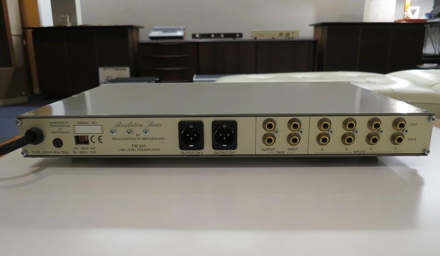 スイス製 中古 FM Acoustics FM 245(2007年以降モデル) 極上
