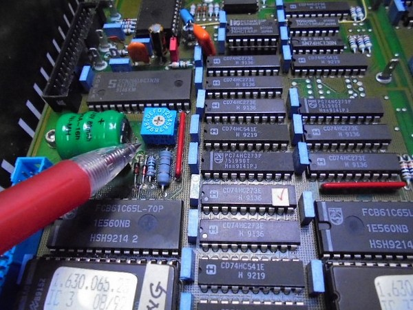 STUDER A730新規アドレススイッチの取り付けとID設定(現行品を探し出して取付)