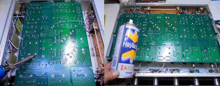 整備中のCello ENCORE 1MΩ Lのメイン基板
