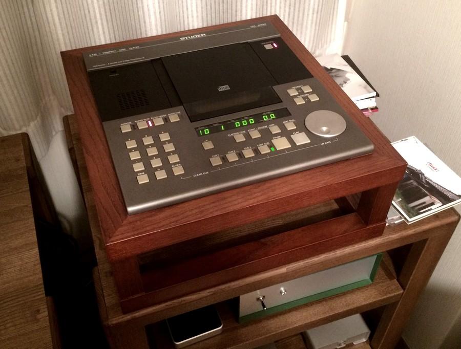 お客様レビュー STUDER A730 業務用CDプレーヤー スチューダー