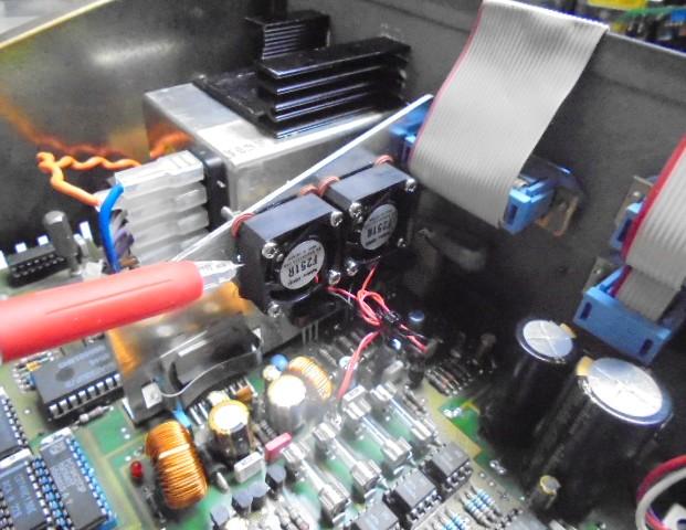 STUDER A730冷却機能の追加。ハイエンド中古オーディオショップ。
