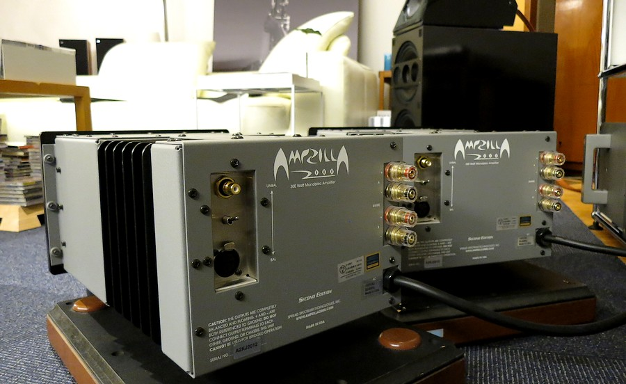 High end power amp