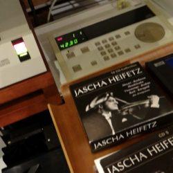 PHLIPS LHH2000とお客様のソースと1937年のJascha HEIFETZ