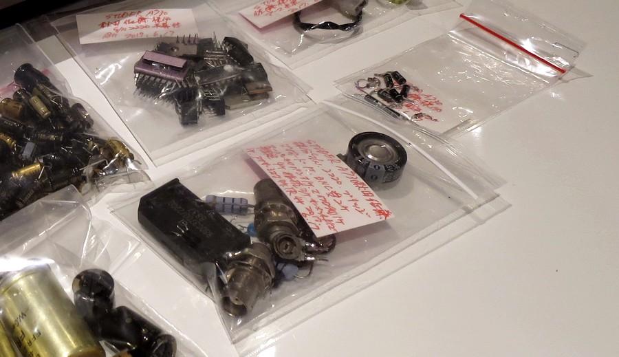 内蔵電池がコンデンサーに代替えされているものを正規仕様へ交換