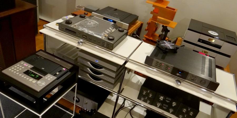 High end CD player