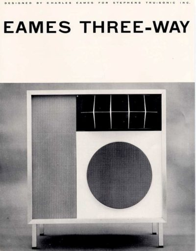 EAMES THREE-WAY SPEAKER